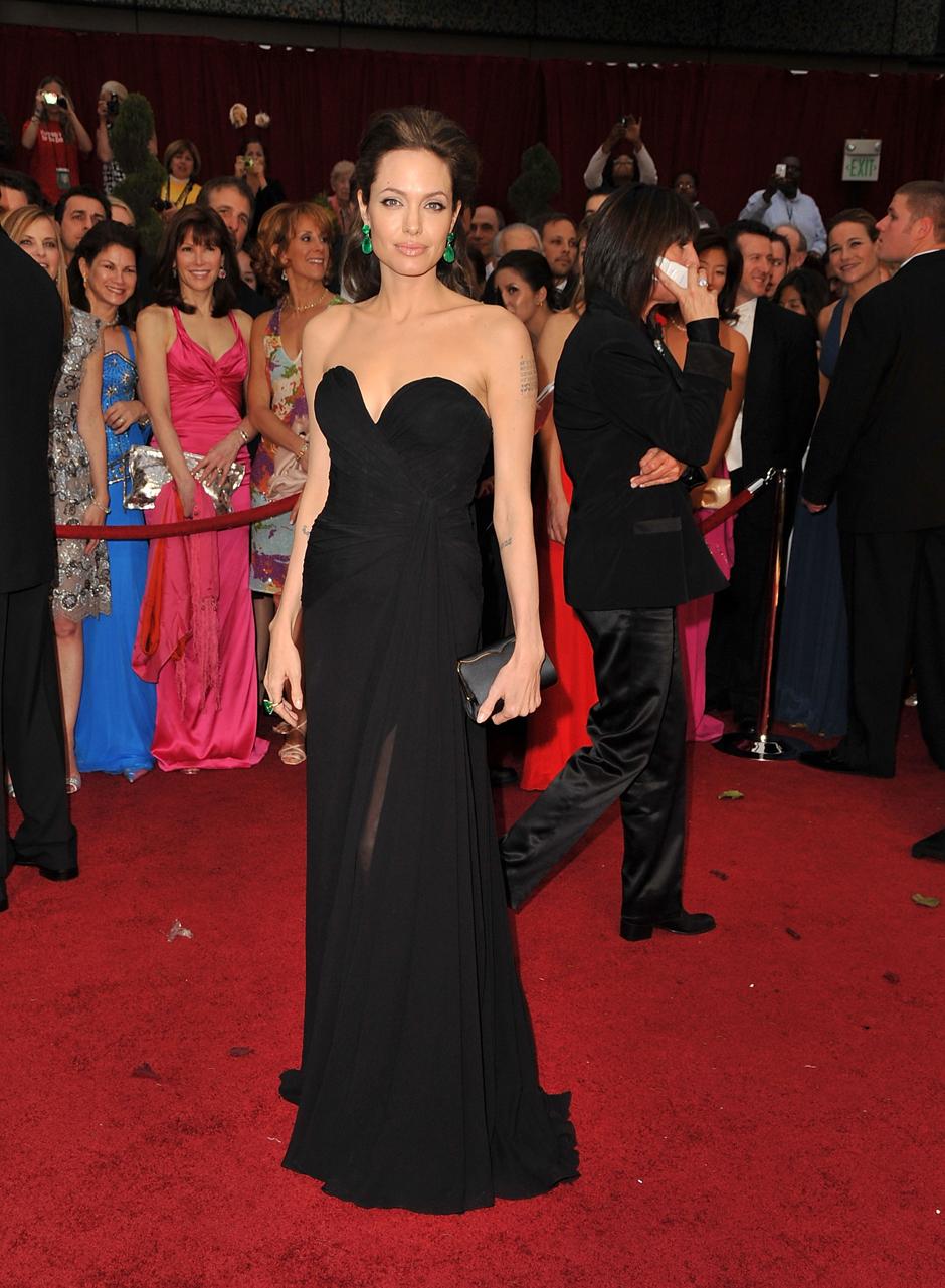 "Анджелина Джоли на церемонии ""Оскар""-2009"
