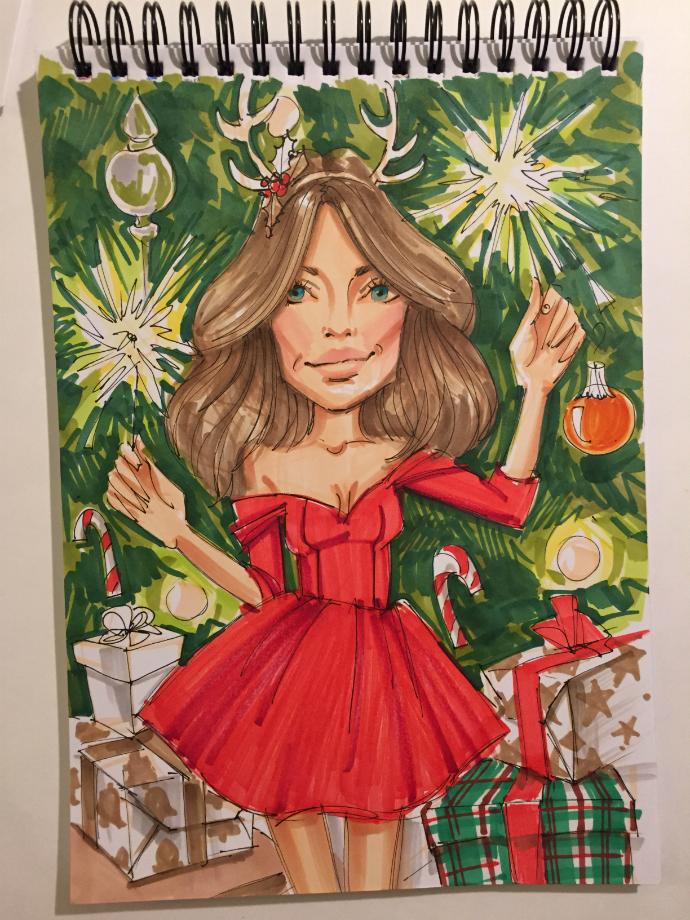 Рисунок Кати Хотунцевой