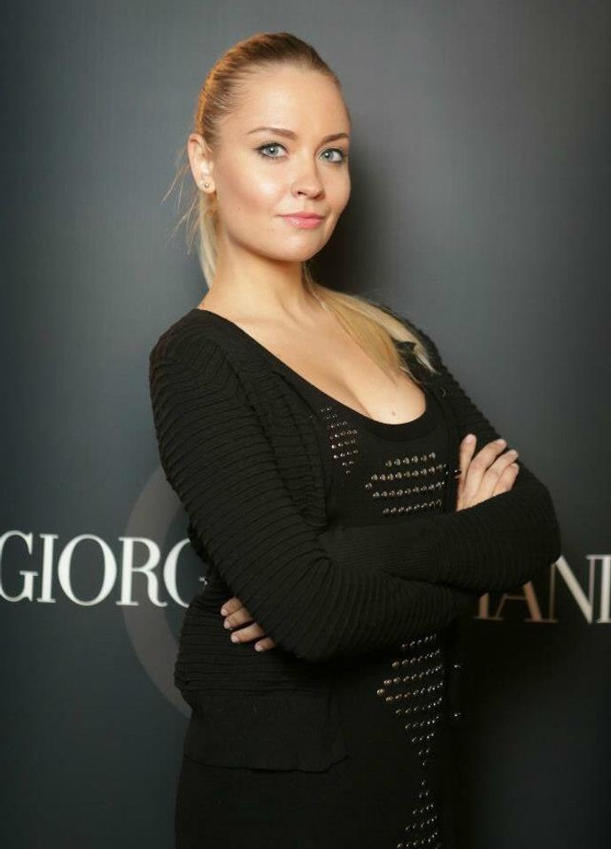Ирина Плешакова, ведущий визажист Giorgio Armani в России