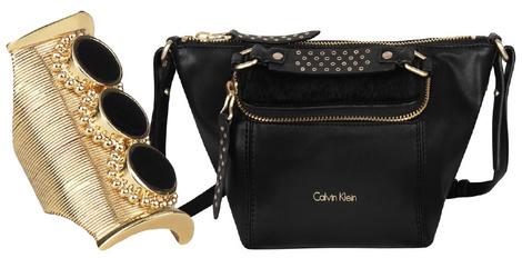 Браслет, Chloé, 15 500 руб; сумка, Calvin Klein, 7 800 руб.