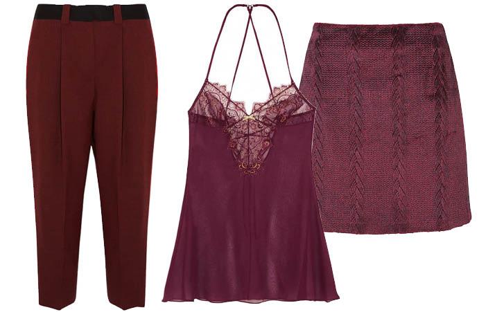 Выбор ELLE: брюки Jonathan Saunders, пеньюар Elle Macpherson Intimates, юбка TopShop