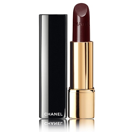 Chanel, помада с насыщенным цветом Rouge Allure, оттенок Rouge Noir