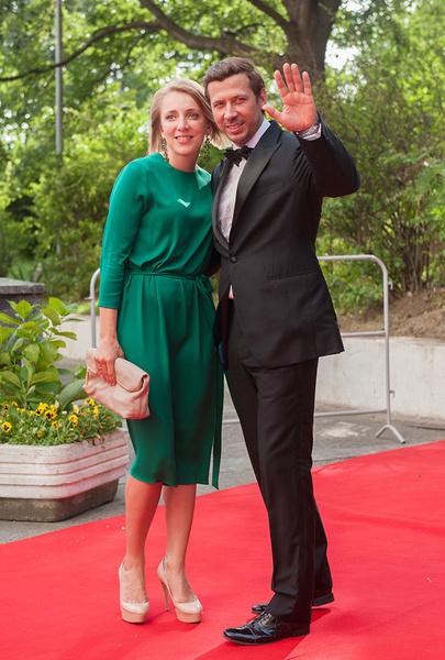 Андрей Мерзликин с супругой Анной