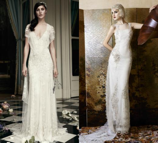 Прямые свадебные платья от Jenny Packham и Yolan Cris