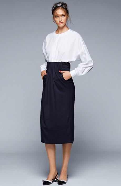 Блуза и юбка Caractere