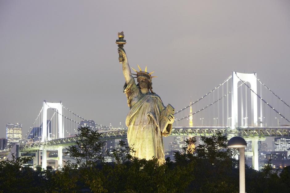 Статуя Свободы. Нью-Йорк, США. 1886 год