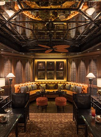 Реновация легендарного джазового бара Bamboo bar