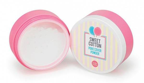 Holika Holika Sweet Cotton Pore Cover Powder матирующее средство для лица