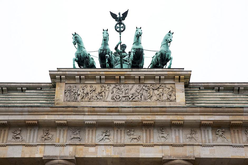 Колесница на Бранденбургских воротах