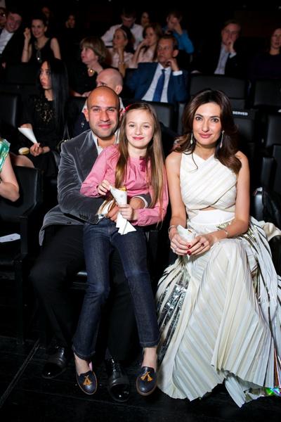 Ованес Погосян, Снежана Георгиева и дочь Снежаны София