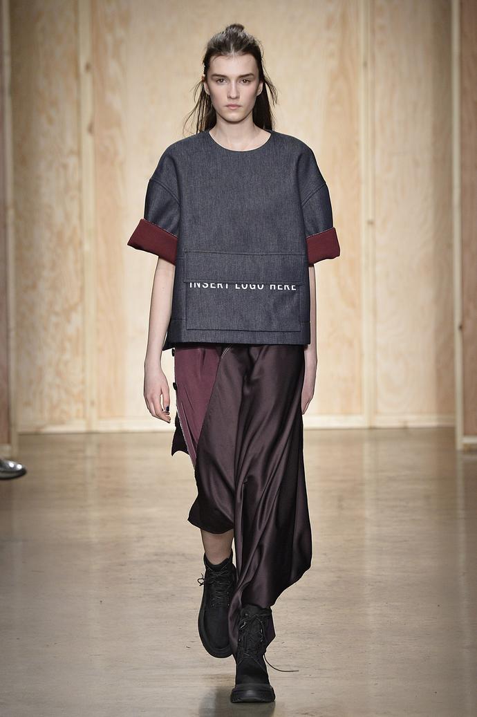 На грани пола: показ DKNY на Неделе моды в Нью-Йорке