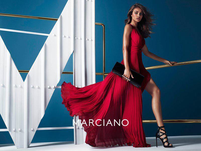 Рекламная кампания Marciano Guess осень-зима 2014-2015