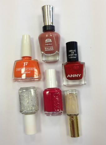 Лаки для ногтей Sally Hansen, Seventeen, Essie Professionals, Essie, Anny, L'Oreal Paris