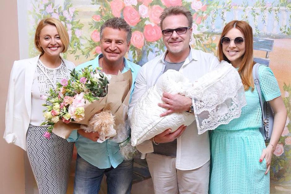 Анжелика Варум, Леонид Агутин, Владимир Пресняков и Наталья Подольская