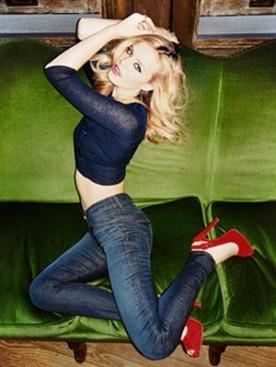 Джорджия Мэй Джаггер для Hudson Jeans