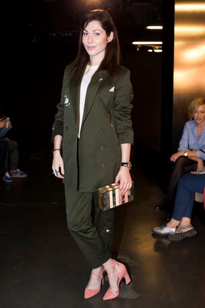 Дотянуться до звезд: показ коллекции A LA RUSSE Anastasia Romantsova осень-зима 2015-2016 | галерея [1] фото [16]