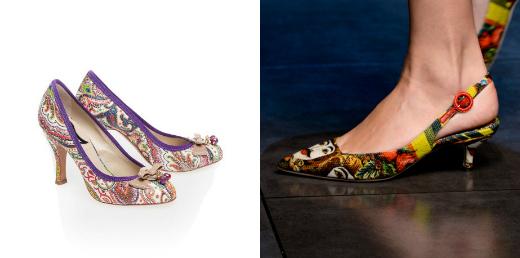 Etro и Dolce&Gabbana
