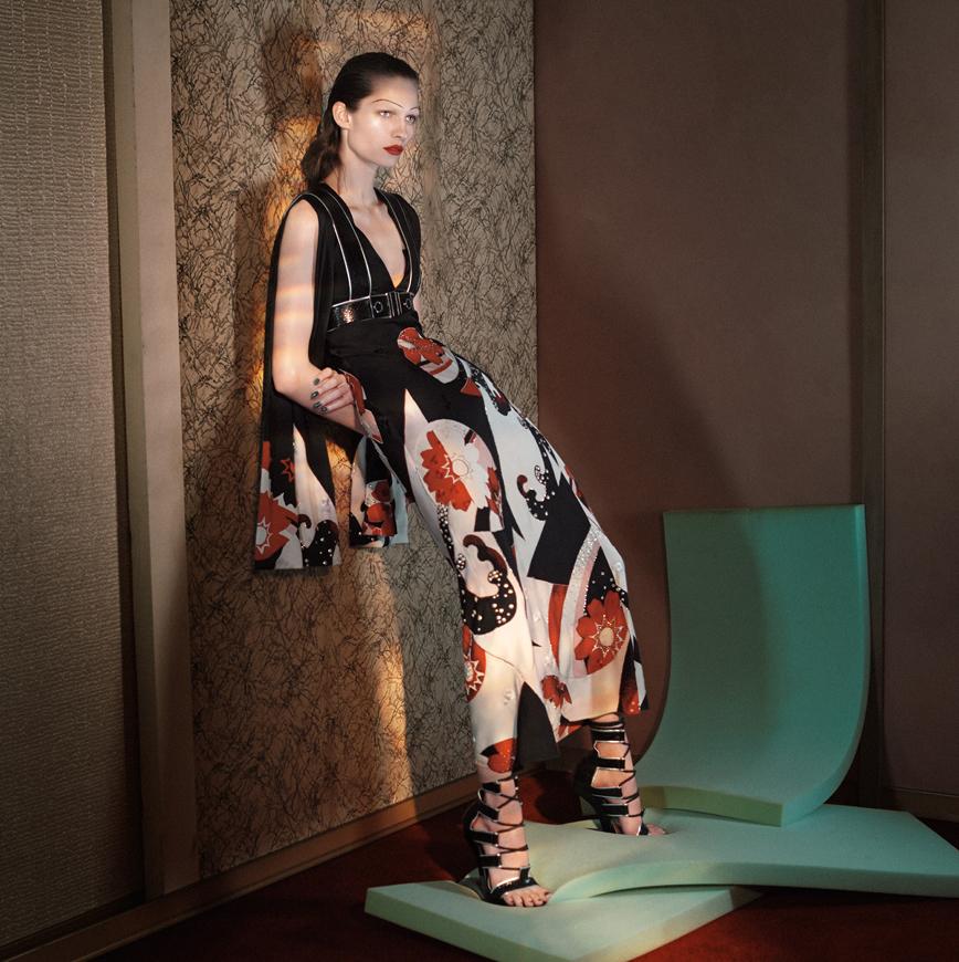 Принтованное платье: фото