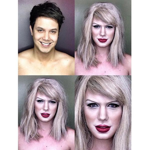 Филиппинский визажист перевоплотился в звезд с помощью макияжа | галерея [1] фото [13]