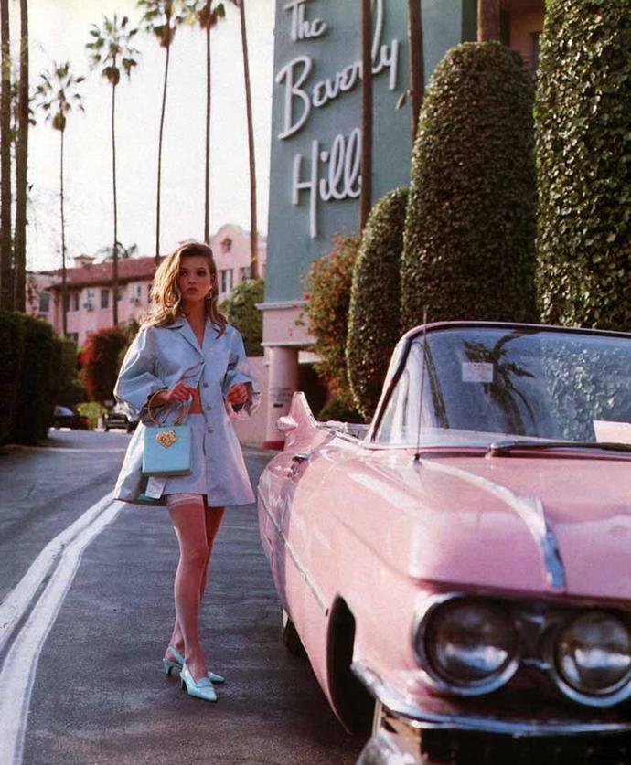 Кейт Мосс в отеле The Beverly Hills