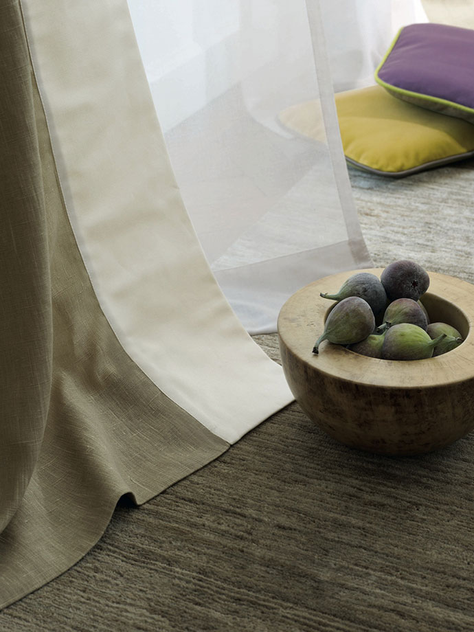 Ткань, коллекция Natural Elegance, Zimmer + Rohde, салоны DeLuxe Home Creation, «Трио».