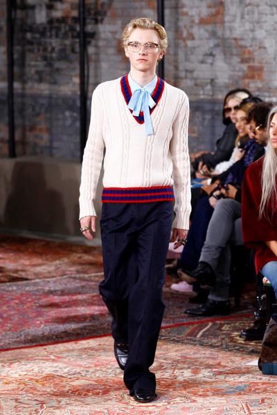 Дом Gucci представил новую круизную коллекцию 2016 | галерея [2] фото [7]