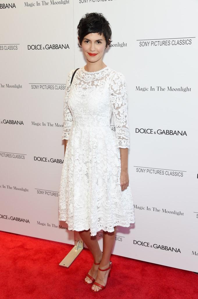 Одри Тоту в Dolce & Gabbana