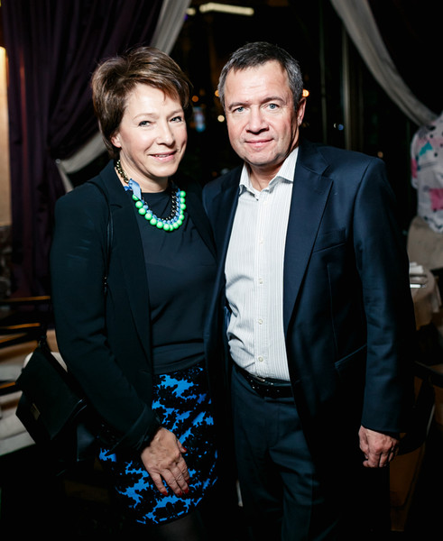 Валентин и Татьяна Юмашевы