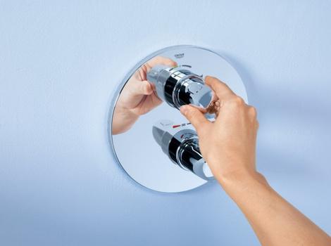 Новый термостат Grohtherm 1000 New | галерея [1] фото [3]
