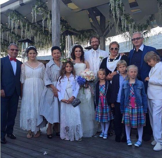 Алиса Хазанова и Дмитрий Шохин с родными