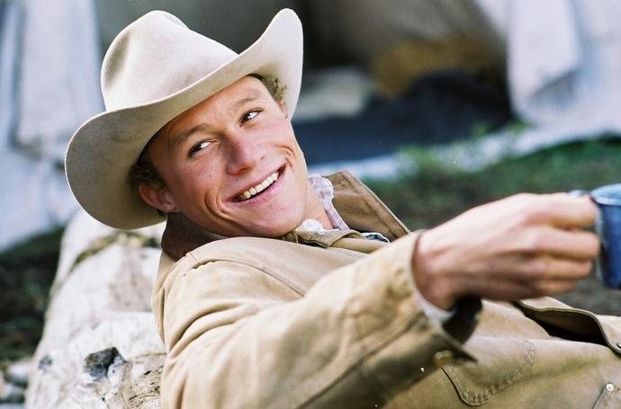 «Горбатая гора» (Brokeback Mountain), 2005 Хит Леджер актер фото фильмография