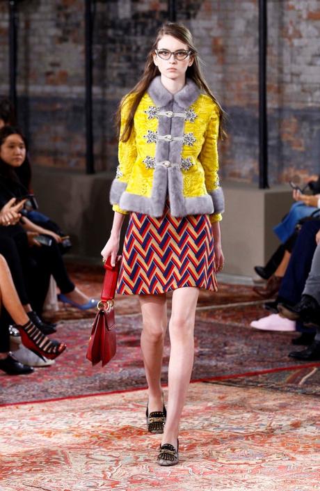 Дом Gucci представил новую круизную коллекцию 2016