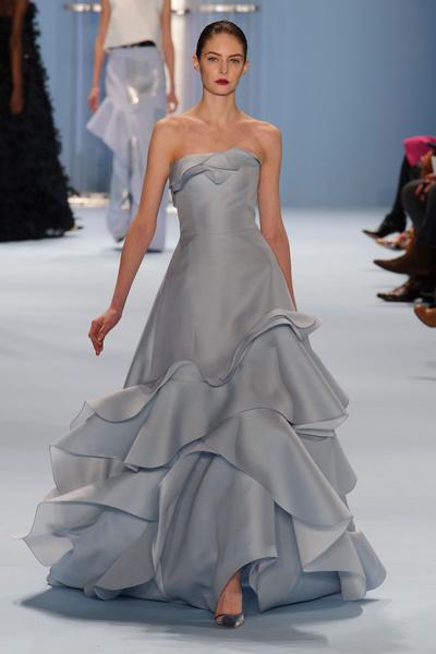 Black tie: показы Carolina Herrera, Reem Acra и Zac Posen на Неделе моды в Нью-Йорке | галерея [2] фото [6]