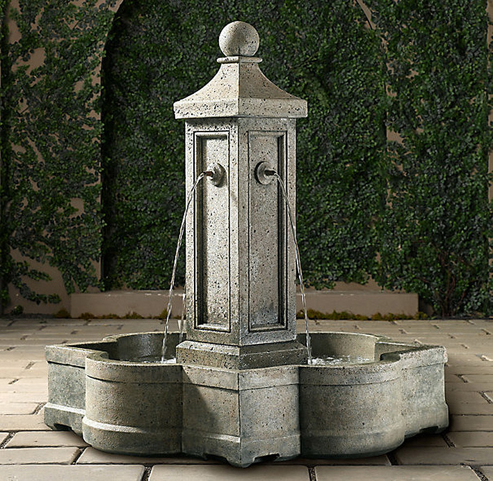 Фонтан Provence Fountain, Restoration Hardware, www.restorationhardware.com