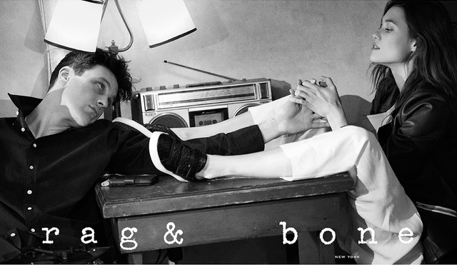 Майкл Питт для Rag & Bone