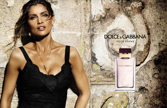 Летиция Каста в рекламе Dolce & Gabbana