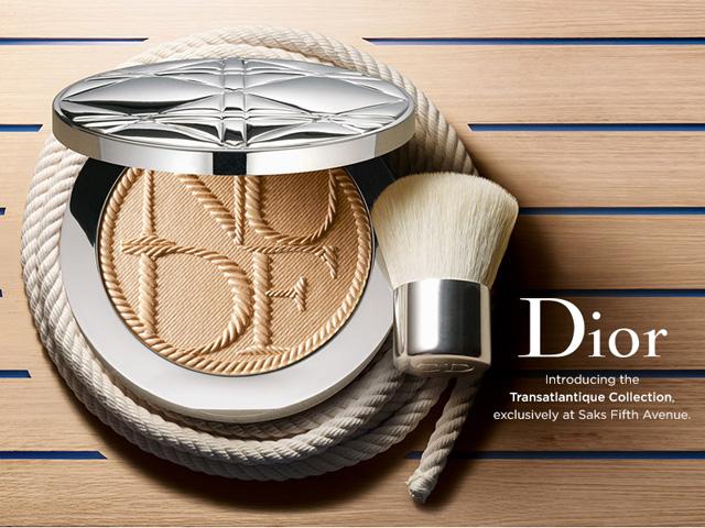 Коллекция макияжа Transatlantique от Christian Dior