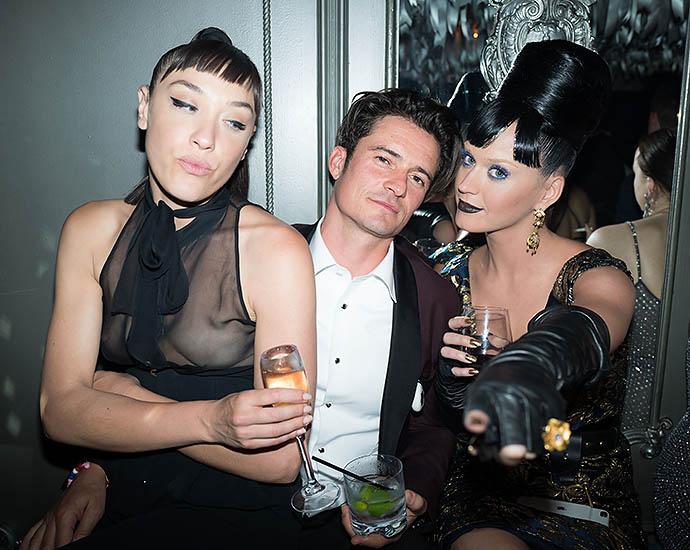 Орландо Блум и Кэти Перри на вечеринке в честь MET Gala
