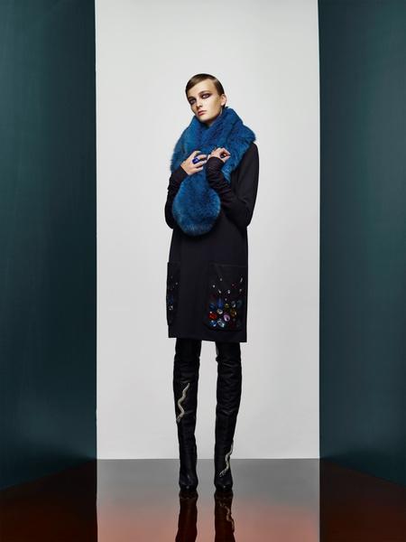 Хозяйка Медной горы: новая pre-fall коллекция A LA RUSSE Anastasia Romantsova | галерея [2] фото [20]