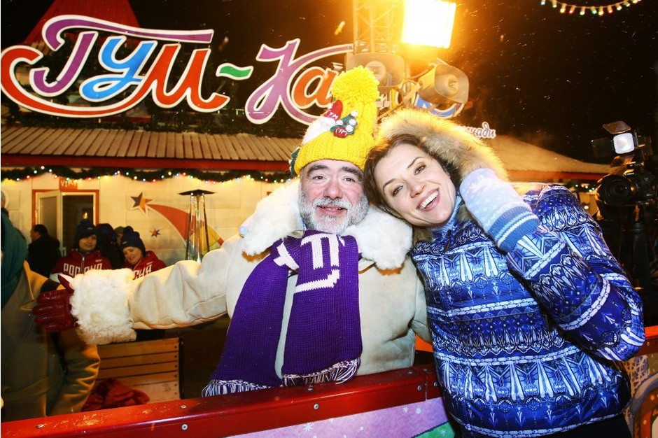 Михаил Куснирович и Ксения Алферова
