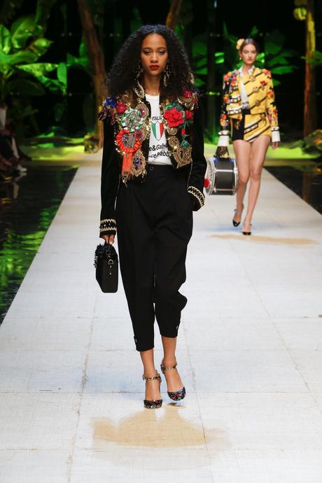 Dolce & Gabbana, весна-лето 2017