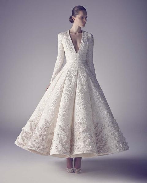 ЗАМУЖ НЕВТЕРПЕЖ: 10 самых красивых свадебных коллекций сезона | галерея [1] фото [11]