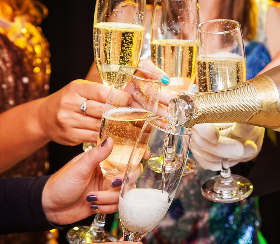 Пить шампанское полезно для здоровья