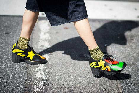 Неделя моды в Нью-Йорке: street style