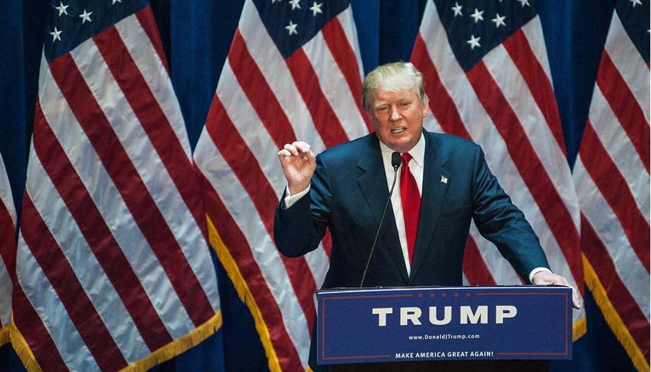 Небоскреб Трампа вНью-Йорке оградили грузовиками спеском