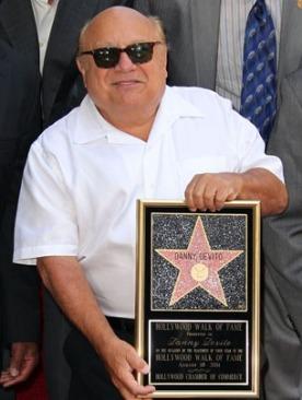 Дэнни ДеВито получил звезду на Аллее Славы