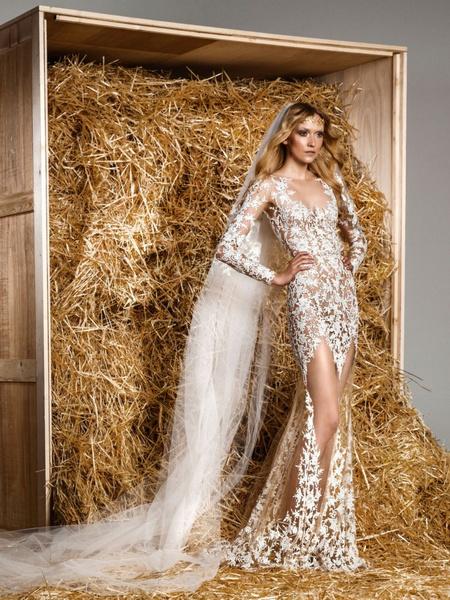 Сексуальные свадебные платья фото 3