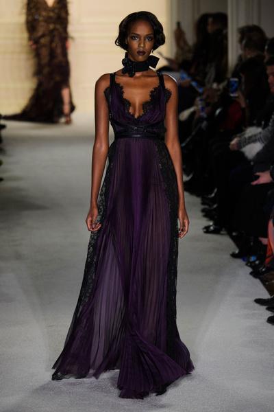 Показ Marchesa на Неделе моды в Нью-Йорке | галерея [1] фото [14]