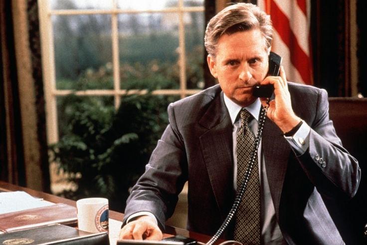 Президент Эндрю Шепард (Майкл Дуглас) «Американский президент» (The American President), 1995