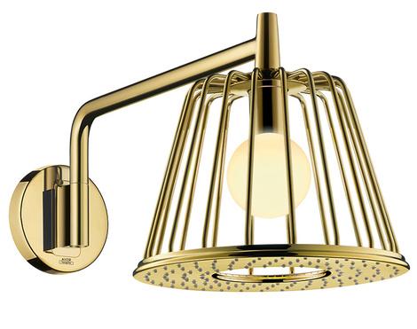 Душевая лейка-светильник Lamp Shower, дизайн студии Nendo для Axor, www.hansgrohe.ru, салоны Konzept, «Макслевел», «Хогарт».